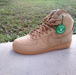 Air Force 1 high flax(wheat)